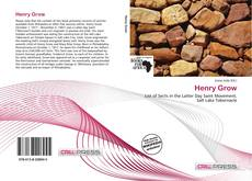 Bookcover of Henry Grow