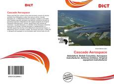 Bookcover of Cascade Aerospace