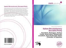 Обложка Italian Revolutionary Socialist Party
