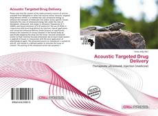 Acoustic Targeted Drug Delivery kitap kapağı