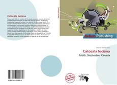 Catocala luciana kitap kapağı