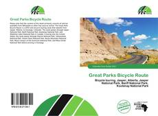 Great Parks Bicycle Route的封面
