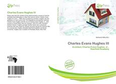 Bookcover of Charles Evans Hughes III