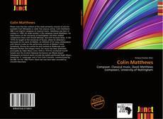 Bookcover of Colin Matthews