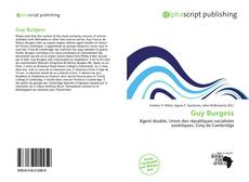 Bookcover of Guy Burgess