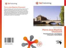Capa do livro de Pierre-Jean-Baptiste Chaussard
