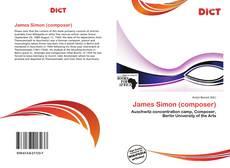 Portada del libro de James Simon (composer)