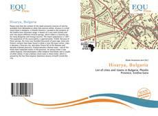 Hisarya, Bulgaria kitap kapağı