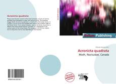 Acronicta quadrata的封面