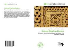 Couverture de George Bigelow Rogers
