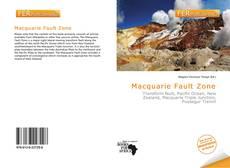 Macquarie Fault Zone kitap kapağı