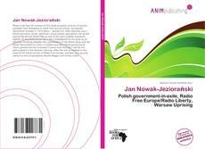 Jan Nowak-Jeziorański kitap kapağı