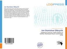 Jan Stanisław Olbrycht kitap kapağı