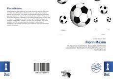 Bookcover of Florin Maxim