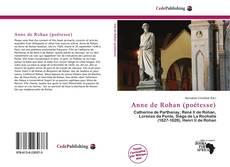 Portada del libro de Anne de Rohan (poétesse)