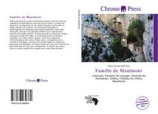 Couverture de Famille de Maulmont