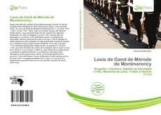 Обложка Louis de Gand de Mérode de Montmorency