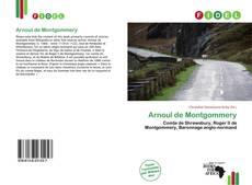 Portada del libro de Arnoul de Montgommery
