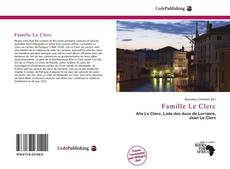 Bookcover of Famille Le Clerc