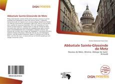 Abbatiale Sainte-Glossinde de Metz kitap kapağı