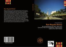 Rue Royale (Paris) kitap kapağı