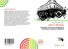 Capa do livro de John T. Windrim