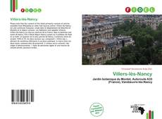 Bookcover of Villers-lès-Nancy