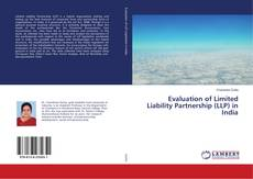 Evaluation of Limited Liability Partnership (LLP) in India的封面
