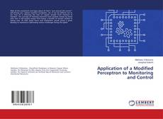 Bookcover of Application of a Modified Perceptron to Monitoring and Control