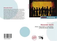 Buchcover von Alexander Becht