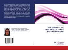 Portada del libro de The Effects of EFL Proficiency on Lexical Attrition/Retention