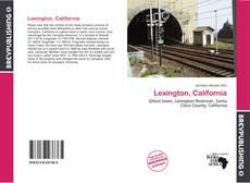 Bookcover of Lexington, California