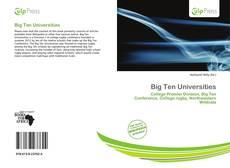 Bookcover of Big Ten Universities
