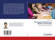Buchcover von The Impact of Discourse Markers Instruction
