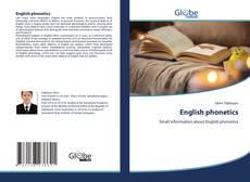 Bookcover of English phonetics