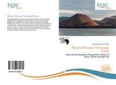 Bookcover of Mount Kenya National Park