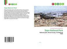 Bookcover of Sapo National Park