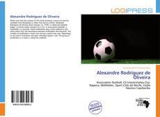 Couverture de Alexandre Rodriguez de Oliveira