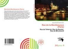 Bookcover of Rue de la Bienfaisance (Paris)