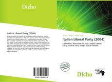 Portada del libro de Italian Liberal Party (2004)