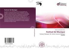 Couverture de Festival de Musique