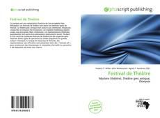 Обложка Festival de Théâtre