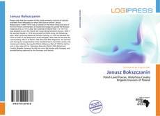 Portada del libro de Janusz Bokszczanin