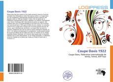 Couverture de Coupe Davis 1922