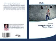 Kalakaran o Signal sa Wikang Filipino的封面