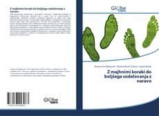 Обложка Z majhnimi koraki do boljšega sodelovanja z naravo