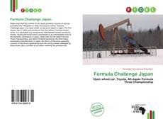 Capa do livro de Formula Challenge Japan
