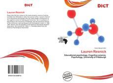 Lauren Resnick kitap kapağı
