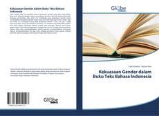 Kekuasaan Gender dalam Buku Teks Bahasa Indonesia kitap kapağı