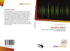 Portada del libro de Christina Rahm